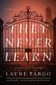 They never learn Book Cover