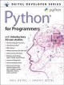 Python for programmers : with introductory AI case studies / Paul Deitel, Harvey Deitel. cover
