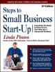 Steps to small business start-up : everything you need to know to turn your idea into a successful business / Linda Pinson. cover