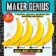 Maker genius. cover