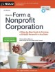 How to form a nonprofit corporation / Attorney Anthony Mancuso. cover
