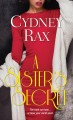A sister's secret / Cydney Rax. cover