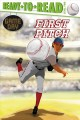 First pitch / by David Sabino ; illustrated by Charles Lehman. cover