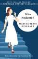 Miss Pinkerton / Mary Roberts Rinehart ; introduction by Carolyn Hart. cover
