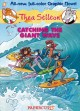 Thea Stilton. [Graphic novel #4], Catching the giant wave / Thea Stilton ; [story by Francesco Artibani and Caterina Mognato ; art by Michela Frare ; color by Ketty Formaggio with the assistance of... cover