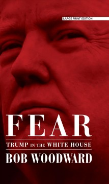 Book Jacket For Fear: Trump In The White House