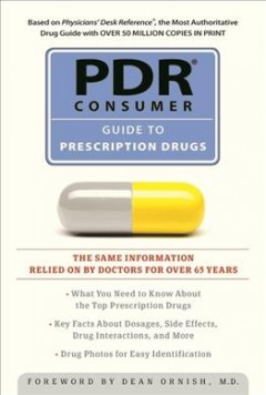 book cover: PDR Consumer Guide to Prescription Drugs, edited by J. Harris Fleming.