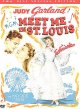 Cover for Meet me in St. Louis