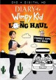 Cover for Diary of a wimpy kid. The long haul.
