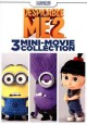 Cover for Despicable me 2: 3 mini-movie collection.