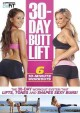 Cover for 30-day butt lift: six 10-minute workouts