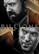 Cover for Billions. Season one.