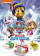 Cover for Paw patrol. The great snow rescue