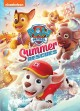 Cover for PAW patrol. Summer rescues