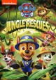 Cover for Paw patrol. Jungle rescues.
