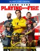 Cover for Playing with fire.