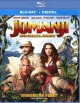 Cover for Jumanji. Welcome to the jungle.