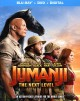Cover for Jumanji. The next level
