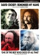 Cover for David Crosby: remember my name