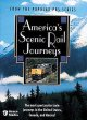 Cover for America's scenic rail journeys