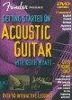Cover for Getting started on acoustic guitar guitar