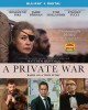 Cover for A private war