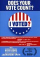 Cover for I voted?: does your vote count?