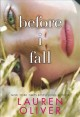 Cover for Before I fall