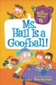 Cover for Ms. Hall is a goofball!