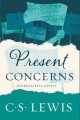 Cover for Present concerns: journalistic essays