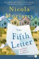Cover for The fifth letter [Large Print]