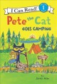 Cover for Pete the Cat goes camping