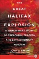 Cover for The great halifax explosion: a world war i story of treachery, tragedy, and... [Large Print]