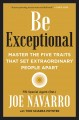 Cover for Be exceptional: master the five traits that set extraordinary people apart
