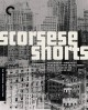 Cover for Scorsese shorts