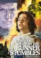 Cover for The runner stumbles