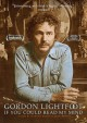 Cover for Gordon Lightfoot: if you could read my mind