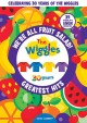 Cover for The Wiggles. We're all fruit salad!, The Wiggles' greatest hits.