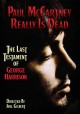 Cover for Paul McCartney really is dead: the last testament of George Harrison?