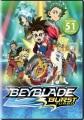 Cover for Beyblade burst evolution. Season 3.
