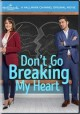 Cover for Don't go breaking my heart