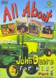 Cover for All about John Deere for kids.