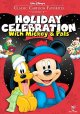 Cover for Holiday celebration with Mickey & pals