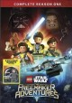Cover for Lego star wars. The freemaker adventures