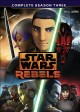 Cover for Star wars rebels. Complete season three.