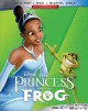 Cover for The princess and the frog