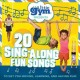 Cover for 20 sing-along fun songs