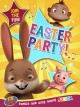 Cover for Easter bunny party