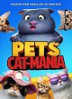 Cover for Pets. Cat-mania
