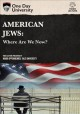 Cover for American Jews: where are we now?.